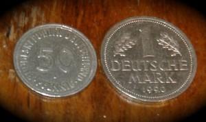 Zwei Münzen