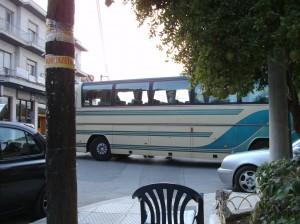 Der Bus nach Athen