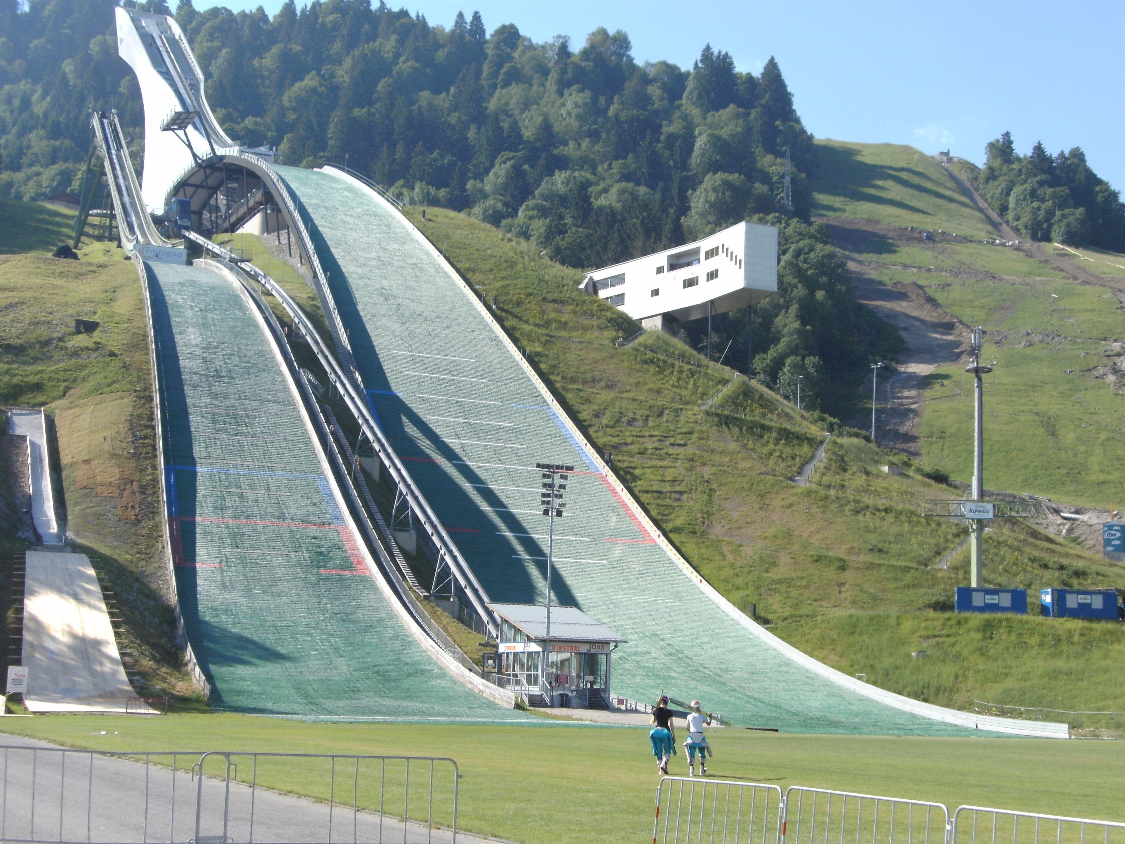 große olympiaschanze garmisch partenkirchen