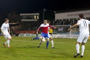 Und noch mal der Andreas, der jetzt beim FC Heidenheim spielt.