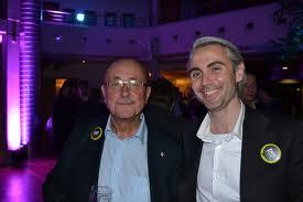 Hier mit Dr. Stefan Hagen (rechts).
