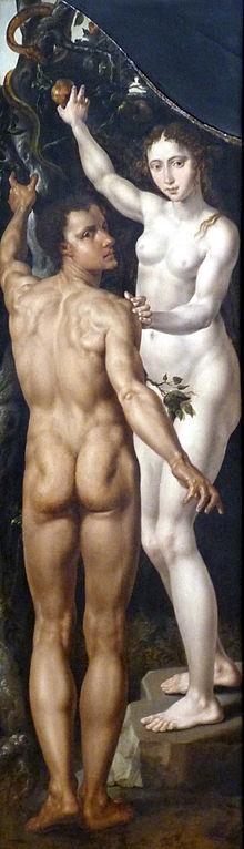 AdamundEva-M._v._Heemskerck-Musée_des_Bx-Arts_Strasbourg-Gédéon-Adam_Eve-Ausschnitt_2