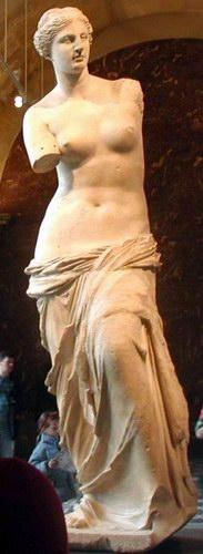Die Venus von Milo, Zeugnis der Prosperität der Inseln in hellenistischer Zeit