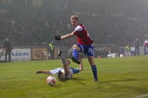 Andreas Voglsammer im Spiel gegen Chemnitz 2012