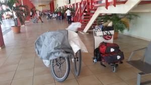 Am Ende der Reise am Flughafen Varadero