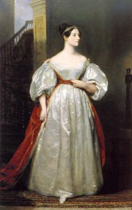 Ada Lovelace 1836, Gemälde von Margaret Sarah Carpenter (1793–1872)