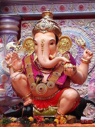 Zeitgenössische Ganesha-Statue