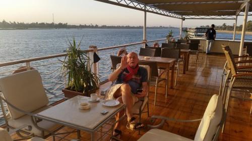 Luxus pur von Luxor nach Assuan. Das Leben ist schön!