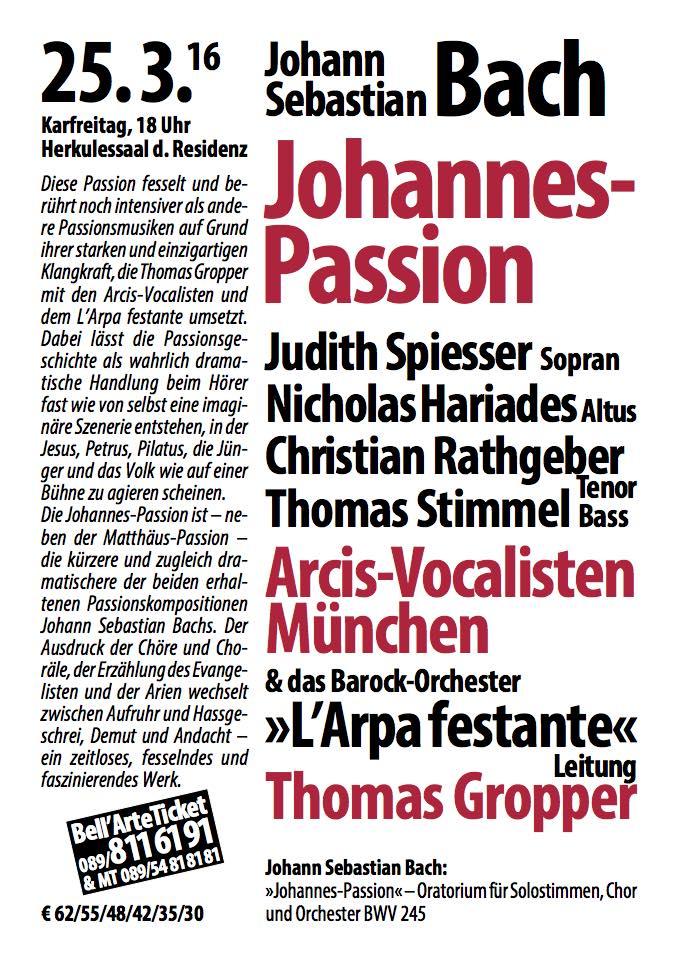 25.3.16. Johannespassion