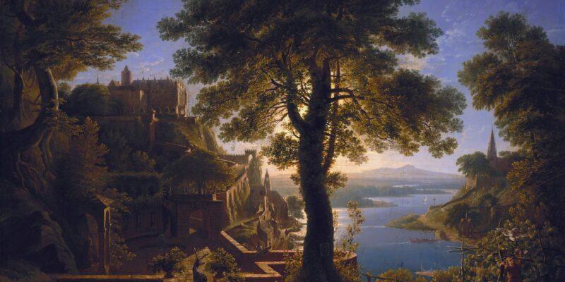 Schloss am Strom - oder Schinkels Hirsch