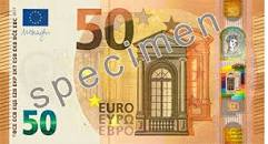 Bildergebnis für wieviel wiegt ein 50 € Schein