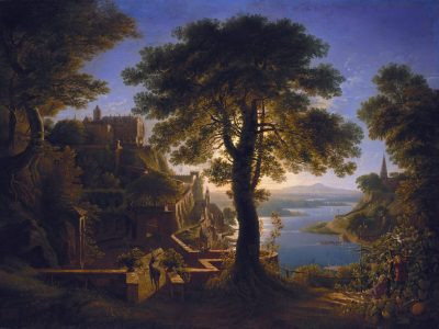 ZZZZKarl_Friedrich_Schinkel_-_Schloß_am_Strom_-_Google_Art_Project